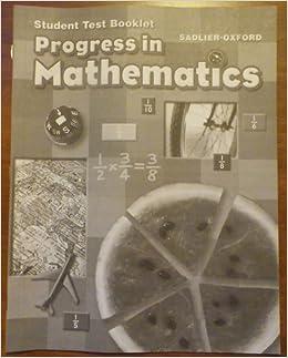 student test booklet progress in mathematics grade 5. Black Bedroom Furniture Sets. Home Design Ideas