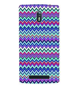 Fuson 3D Printed Tribal Pattern Designer Back Case Cover for Oppo Find 7 - D1015