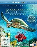 Faszination Korallenriff Collection 3D (Teil 1 / Teil 2: Jäger & Gejagte / Teil 3: Fremde Welten unter Wasser) [3D Blu-ray] [Collector's Edition]