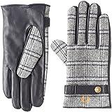 (フレッドペリー)FRED PERRY 手袋 Leather/Woven Mix Gloves F19725 30 30GREY 24