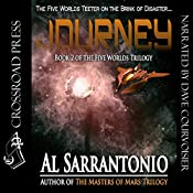 Journey: The Five Worlds Trilogy, Book 2 | Al Sarrantonio