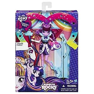 My Little Pony Equestria Girls Rainbow Rocks Twilight Sparkle Rockin' Hairstyle Doll