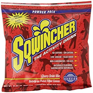 Sqwincher Powder Concentrate Electrolyte Replacement Beverage Mix, 2.5 gal, Tea 016045-TE (Case of 32)