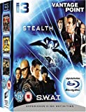Image de S.W.a.T./Stealth/Vantage Point [Blu-ray] [Import anglais]