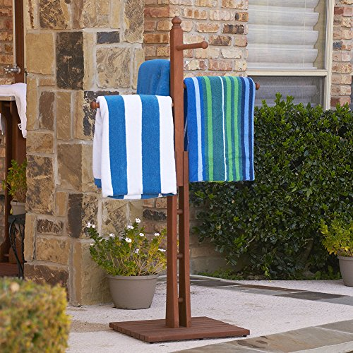 Outdoor Spa And Pool Towel Rack front-1034920