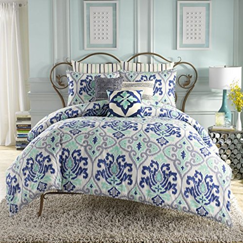 Best Prices! Anthology Joli Twin XL Comforter Set-Mint/Blue