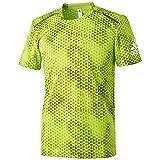 (アディダス)adidas トレーニングウェア クライマチル グラフィックTシャツ BGF84 [メンズ] AI8317 セミソーラースライム/DGH ソリッドグレー J/XO