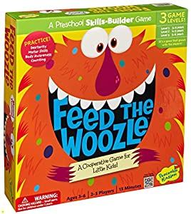 Peaceable Kingdom / Feed the Woozle Award Winning Preschool Skills Builder Game by Peaceable Kingdom