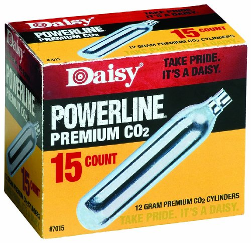 Daisy Outdoor Products 15 ct. CO2 (Silver, 12 gm)