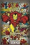 Marvel Comics-Iron Man-Retro Poster