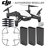 Ryze Tello Quadcopter Drone with HD camera and VR - powered by DJI technology and Intel Processor Ultimate Bundle (Color: Base, Tamaño: C) Professional)