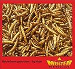 Mehlw�rmer getrocknet 1,0 kg netto