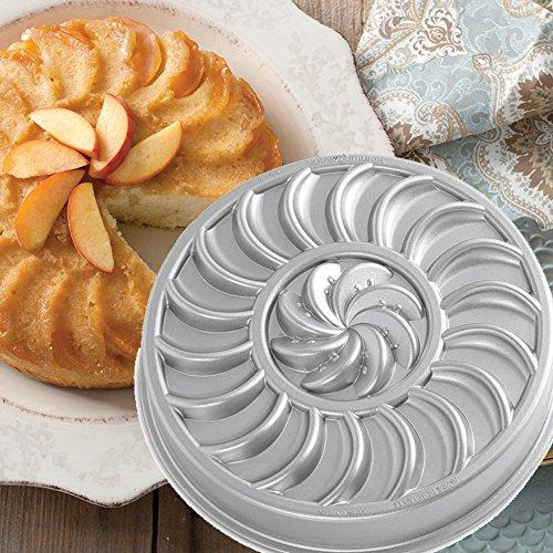 Nordic Ware - Moule à gâteau forme tarte aux pommes Fruit Tartine anti adhésif