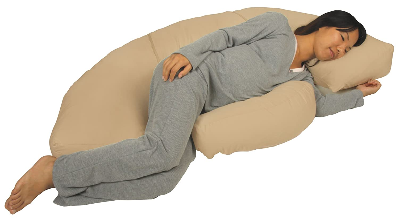leachco neck cervical pillows body bumper contoured cushion pregnancy women new ebay. Black Bedroom Furniture Sets. Home Design Ideas