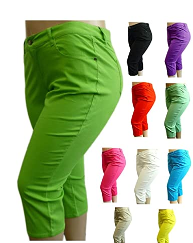 Women's plus size cotton twill pants