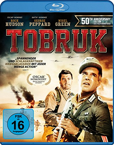 Tobruk - 50Th Anniversary Edition [Blu-ray]