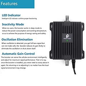 PROUTONE Cell Phone Signal Booster Dual Band 700MHz ATT