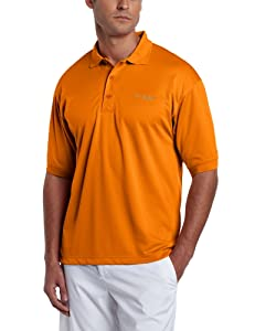 Columbia Sportswear Men's Perfect Cast Polo Shirt, Orange Blast, Large