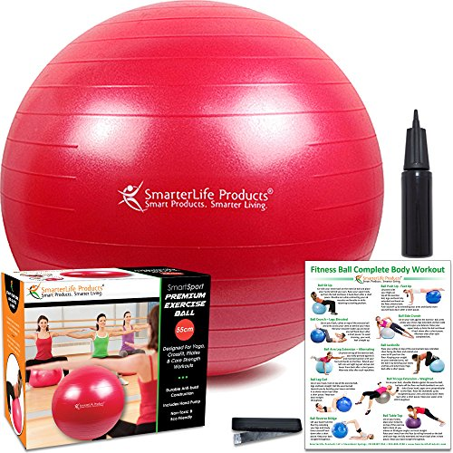 Balance Ball For Weight Loss: Premium Fitness Ball For