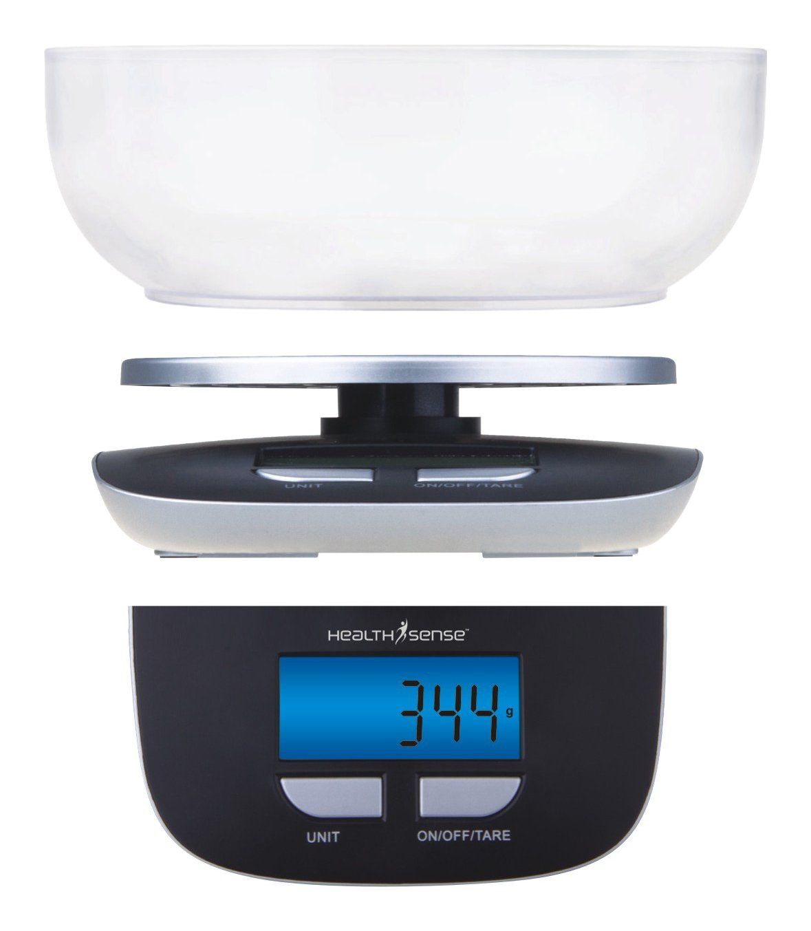 Small Kitchen Weighing Scales Health Sense Chef Mate Digital Kitchen Scale Black Amazonin