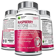 Raspberry Ketone ULTRA – 500MG Pure Raspberry Ketones per Serving with African Mango and Green Tea…