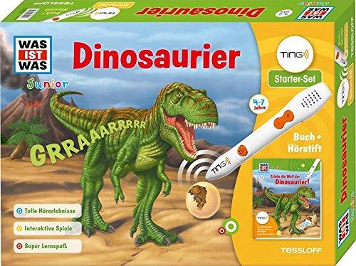 TING Starterset Dinosaurier. Buch und Hörstift: 450 Hörerlebnisse, Bilder und Texte zum Antippen, lustige Dialoge + Reime (Ting-Produkte)