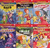 img - for Magic School Bus Chapter Book Set 1-6 (The Truth About Bats / The Serach for the Missing Bones / The Wild Whale Watch / Space Explorers / Twister Trouble / The Giant Germ) book / textbook / text book