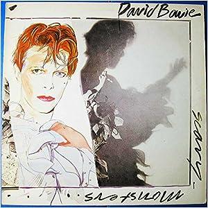 SCARY MONSTERS LP (VINYL) UK RCA 1980
