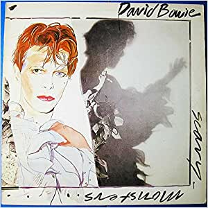 SCARY MONSTERS LP (VINYL) UK RCA 1980