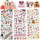 Disney cartoon MICKEY MOUSE minnie mouse NAIL DECALS walt disney world NAIL ART water transfer disney mickey mouse ears Disneyland decor nail stickers accessories nail vinyls French tip stickers