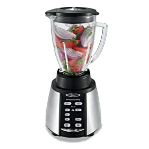 Oster BVCB07-Z Counterforms 6-Cup Glass Jar 7-Speed Blender