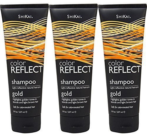 shikai-color-reflect-gold-shampoo-8-ounce-tubes-pack-of-3-by-shikai