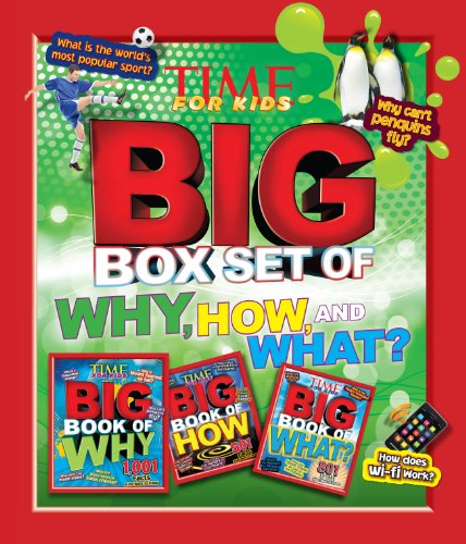 TIME For Kids Big Box Set of Why, How and What? (Time Kids compare prices)