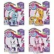 My Little Pony Cutie Mark Magic Figure Set of 4 - Applejack, Rarity, Rainbow Dash & Pinkie Pie