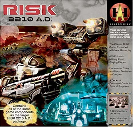 Avalon Hill - 330076 - Risk - 2210 A.d.