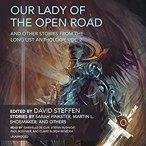 Our Lady of the Open Road, and Other Stories from the Long List Anthology, Vol. 2 Hörbuch von Sarah Pinkster, Martin L. Shoemaker,  various authors, David Steffen Gesprochen von: Gabrielle de Cuir, Stefan Rudnicki, Paul Boehmer, Claire Benedek