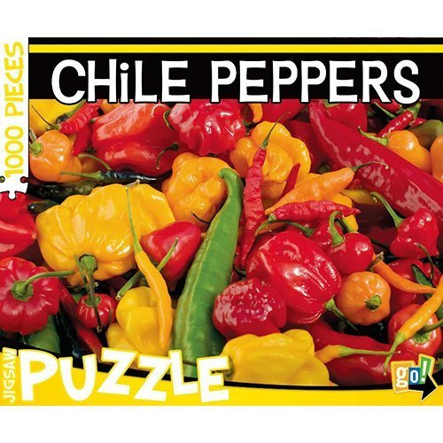 Chile Peppers 1000 Piece Puzzle