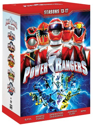 Power Rangers: Seasons 13 -17 (Power Rangers Dvds compare prices)