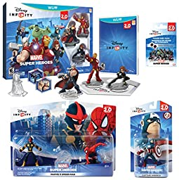 Infinity 2.0 Marvel Value Pack (Wii U)