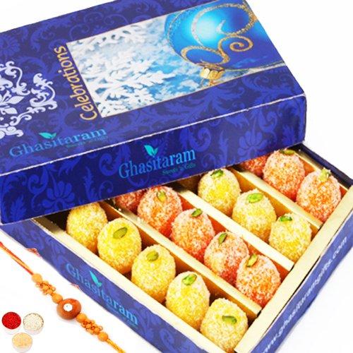 Rakhi Gifts Sweets-Ghasitarams Coconut Delight 200 gms