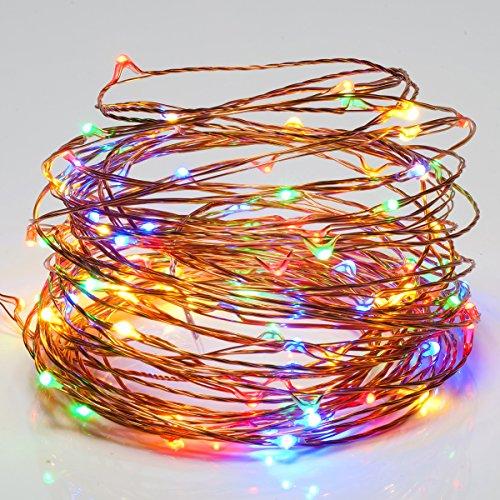 String Lights Qatar : Goalsun USB LED String Lights Copper Wire Lights, Waterproof Starry String Lights,33ft 100LEDs ...