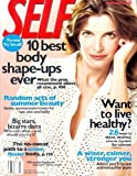 Self Magazine - July 2001: Stephanie Seymour Cover, Celebrity Diets, and More!