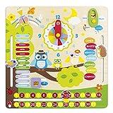 ColorBaby - Juego educativo de madera, diseño búhos (42737)