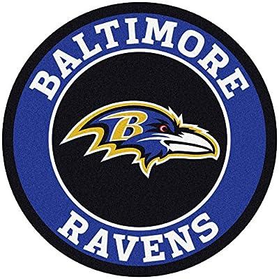 Fan Mats NFL Baltimore Ravens Roundel Mat