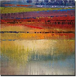 City Colors II by Selina Rodriguez Premium Gallery-Wrapped Canvas Giclee Art (Ready to Hang)