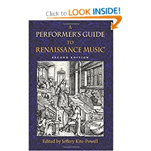 Download ebook A Performer's Guide to Renaissance Music, Second Edition (Publications of the Early Music Institute)