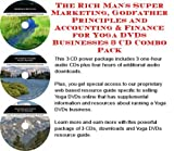 img - for The Rich Man's Super Marketing, Godfather Principles and Accounting & Finance for Yoga DVDs Businesses 3 CD Combo Pack book / textbook / text book