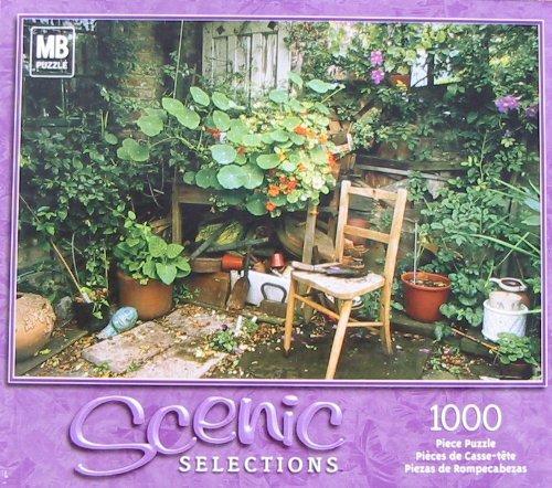 Scenic Selections 1000pc. Puzzle-My Corner Garden