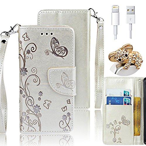Etui pour iPhone 6S Plus Coque,Vandot iPhone 6 Plus/ 6S Plus 5.5 Pouces Cuir Case Pochette Protection PU Cuir Wallet Flip iPhone 6 Plus Etui Housse à