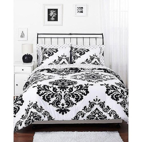 Black And White Vintage Bedding front-825367